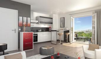 Toulouse programme immobilier neuve « Le Patio Cyrano » en Loi Pinel  (2)