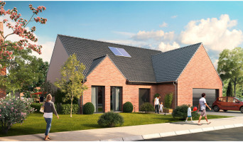 Bauvin programme immobilier neuve « Le Domaine des Vergers »  (5)