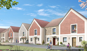 Montgeron programme immobilier neuf « Aquarelle » en Loi Pinel