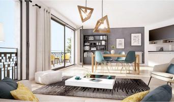 Drancy programme immobilier neuve « Villa en Scène »  (3)