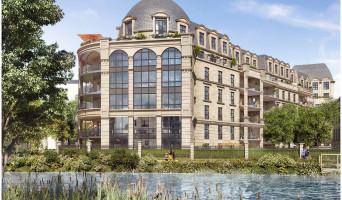 Clamart programme immobilier neuve « Les Reflets du Lac »