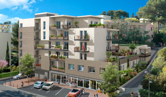 Le Cannet programme immobilier rénové « Le 55 » en loi pinel