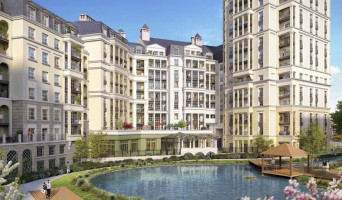 Puteaux programme immobilier neuve « L'Orangerie »