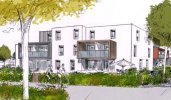 Lanester programme immobilier neuve « Les Hauts de Ville » en Loi Pinel  (2)