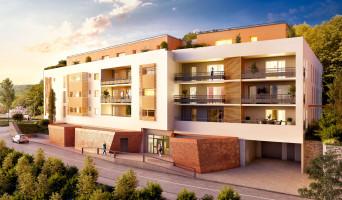 Gières programme immobilier neuve « Osmose »