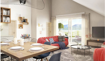 Poisy programme immobilier neuve « Cinq Sens »