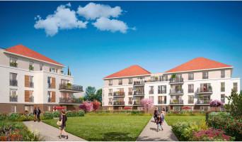 Jouy-le-Moutier programme immobilier neuve « Les Jardins des Retentis II »  (2)