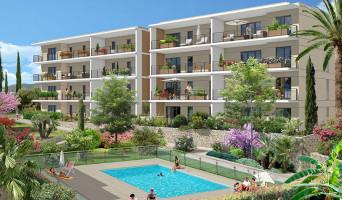 Golfe-juan programme immobilier rénové « Domaine Les Hauts du Golfe » en loi pinel