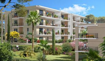 Golfe-juan programme immobilier neuve « Domaine Les Hauts du Golfe » en Loi Pinel  (2)
