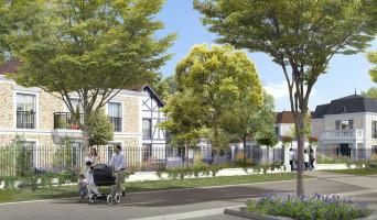 Le Blanc-Mesnil programme immobilier neuve « Le Clos Duroy » en Loi Pinel  (2)