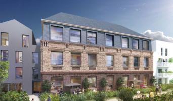 Le Havre programme immobilier neuve « Les Jardins d'Ostara »