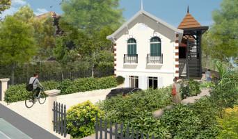Arcachon programme immobilier rénové « Les Jardins Deganne » en loi pinel