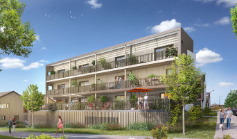 Couëron programme immobilier neuf « Embellies » en Loi Pinel