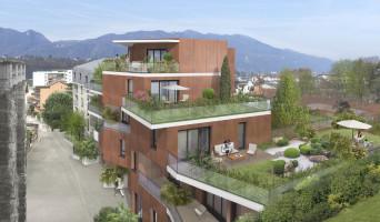 Aix-les-Bains programme immobilier neuve « Paris Kyoto Babylone »  (2)