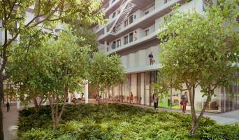 Paris programme immobilier neuf « New G » en Loi Pinel