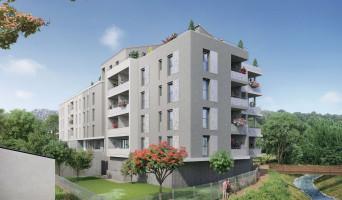 Roquevaire programme immobilier neuve « Côtés Rives » en Loi Pinel  (2)