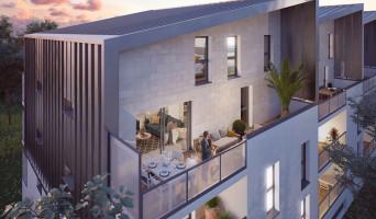 Bordeaux programme immobilier neuve « L'Écrin d'Achillée »  (2)