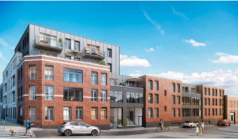Roubaix programme immobilier neuve « Ô Barbieux »  (2)