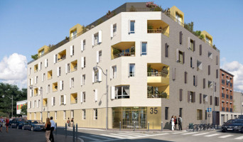 Aubervilliers programme immobilier rénové « Résidence n°215401 » en loi pinel
