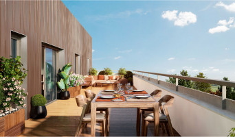 Toulouse programme immobilier neuve « Le GreenGarden 2 »  (3)