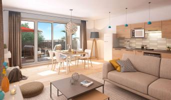 Toulouse programme immobilier neuve « Couleur Garonne » en Loi Pinel  (3)