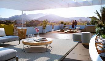 Marseille programme immobilier neuf « Signature - 9ème arrondissement » en Loi Pinel