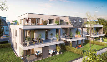 Strasbourg programme immobilier neuve « Perlines »  (3)
