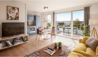 Strasbourg programme immobilier neuve « Perlines »  (4)