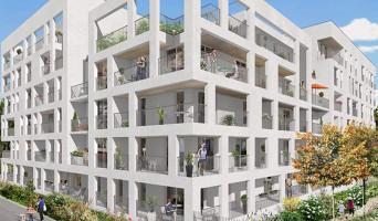 Bondy programme immobilier neuve « Carré des Rives » en Loi Pinel  (2)