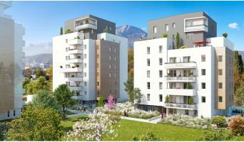 Grenoble programme immobilier neuve « Park en Scène »  (2)
