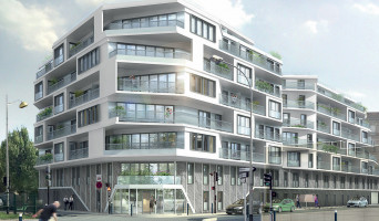 Aubervilliers programme immobilier rénové « Les Reflets Du Canal » en loi pinel