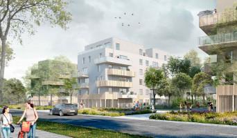 Nantes programme immobilier neuve « Nuances de l'Erdre »