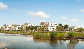 Bois-d'Arcy programme immobilier rénové « Jardins Gabin » en loi pinel