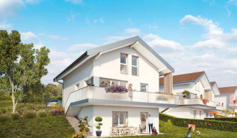 Thorens-Glières programme immobilier neuve « Oxygène » en Loi Pinel  (3)