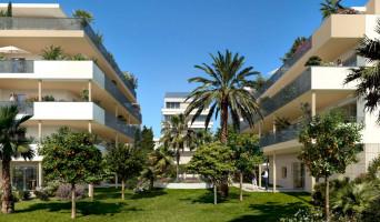 Cannes programme immobilier rénové « Résidence n°215733 » en loi pinel