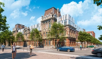 Lille programme immobilier rénové « Synésens » en loi pinel