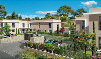 Valbonne programme immobilier rénové « Le Domaine de Margot » en loi pinel