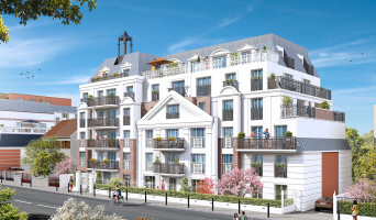 Le Blanc-Mesnil programme immobilier rénové « Le Hameau du Clocher » en loi pinel