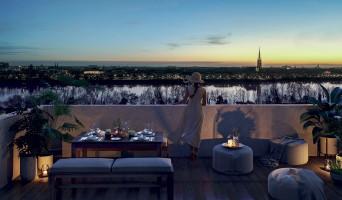 Bordeaux programme immobilier neuf « Amplitude » en Loi Pinel