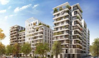 Clichy programme immobilier rénové « L'Instant » en loi pinel