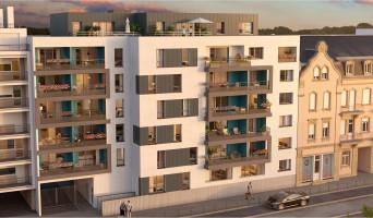 Metz programme immobilier neuve « L'Olympe » en Loi Pinel  (2)