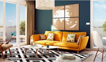 Metz programme immobilier neuve « L'Olympe » en Loi Pinel  (4)