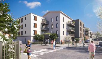 Vaulx-en-Velin programme immobilier rénové « VO'lupté Village » en loi pinel