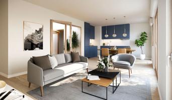 Bussy-Saint-Georges programme immobilier neuve « Agora Parc »  (2)