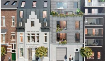Lille programme immobilier rénové « Les Villas de la Visserie » en loi pinel