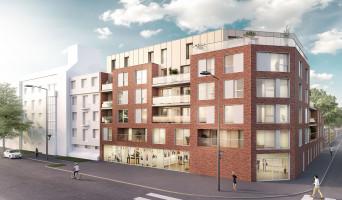 Roubaix programme immobilier rénové « Le 81 Barbieux » en loi pinel