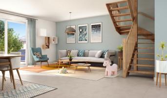 L'Isle-d'Abeau programme immobilier neuve « Maisons Green Archipel »  (2)