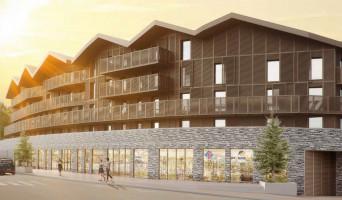 Mont-de-Lans programme immobilier neuve « Le Hameau »  (2)
