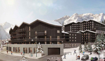 Mont-de-Lans programme immobilier neuve « Le Hameau »  (3)