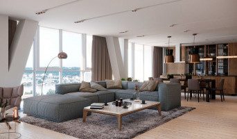 Bordeaux programme immobilier rénové « Tour Silva » en loi pinel